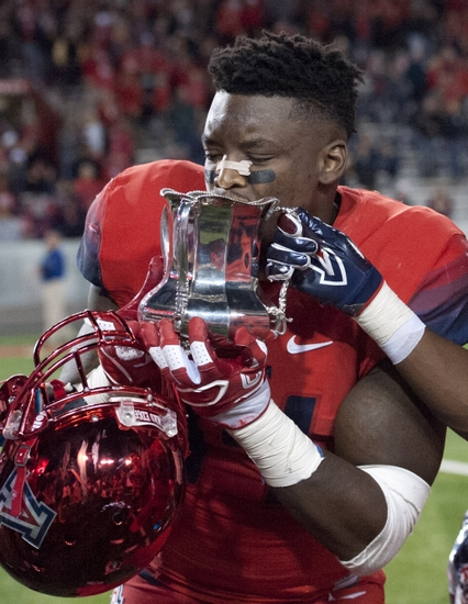Arizona Football Runs Over Rival Arizona State To Victory For Territorial Cup